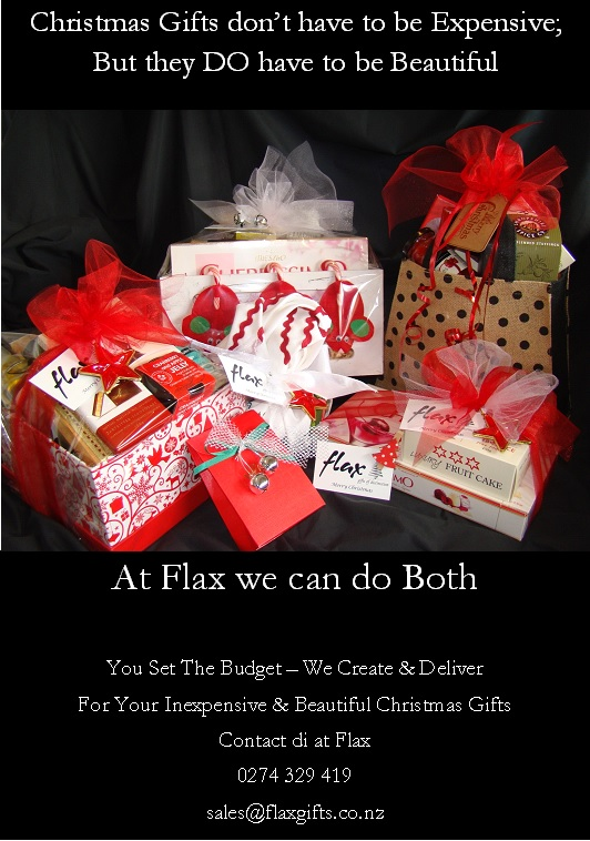 Flax gifts of distinction marshland christchurch we dont like to blow our own christmas trumpet but negle Image collections