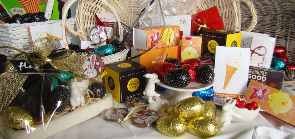 Flax gifts of distinction marshland christchurch easter gift baskets negle Gallery